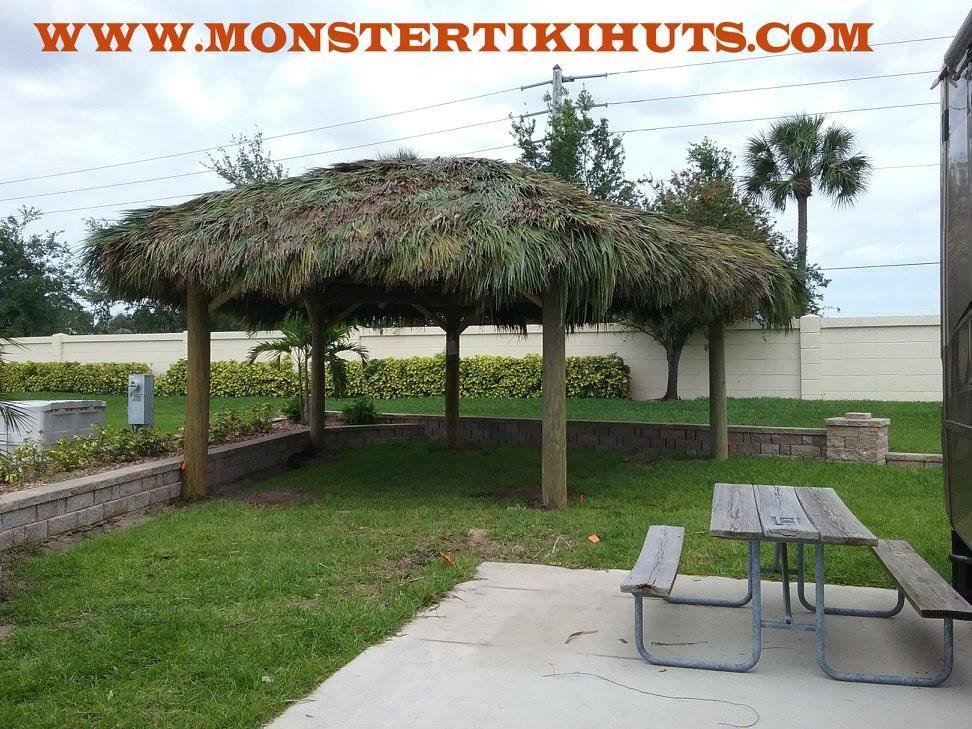 Custom Tiki Huts Tiki Bars Cape Coral Florida Cape Coral Tiki Huts Monster Builders Llc